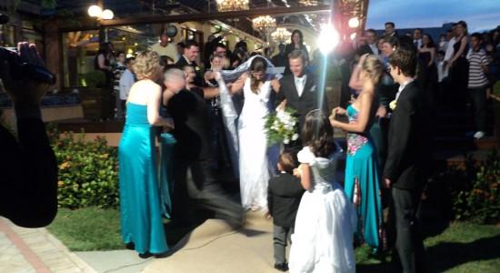 Casamento Luciana & Ricardo.Chuva de Arroz